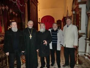 В Псковском Свято-Троицком Кафедральном соборе